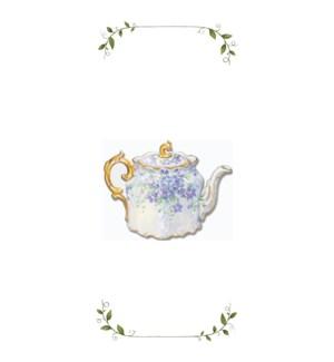 TOWEL/Violet Tea Pot
