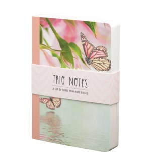 NBOOK/Trio Notebook-Butterfly