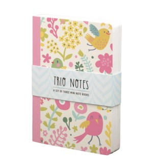 NBOOK/Trio Notebook-Birds
