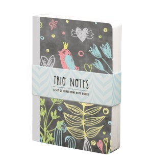 NBOOK/Trio Notebook-Chalkboard