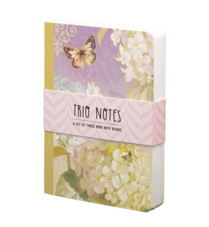 NBOOK/Trio Notebook-Floral