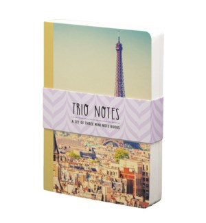 NBOOK/Trio Notebook-Paris