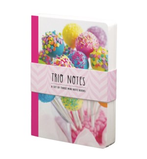 NBOOK/Trio Notebook-Sweets