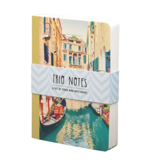 NBOOK/Trio Notebook-Venice