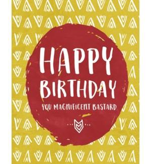 BD/Happy Birthday Magnificent