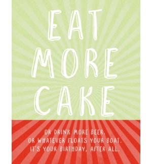 BD/Eat More Cake