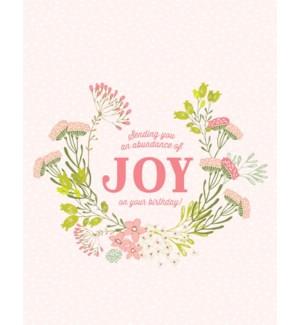 BD/Abundance Of Joy