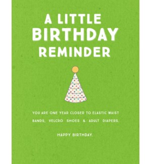 BD/Birthday Reminder