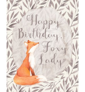 BD/Happy Birthday Foxy Lady