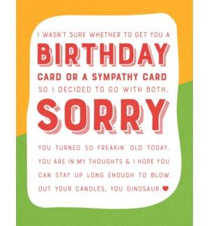 BD/Birthday Sympathy
