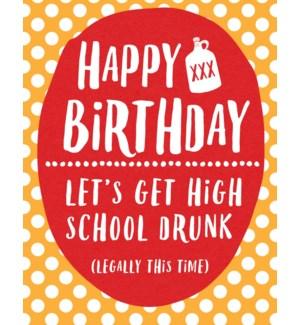 BD/High School Drunk