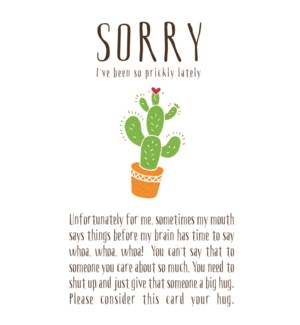 APB/Sorry I'm So Prickly