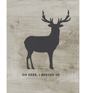 AP/Oh Deer, I Messed Up