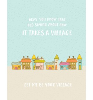TH/Let Me Be Your Village