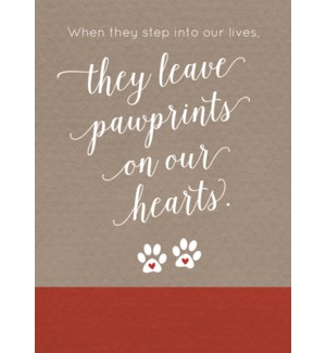 PSY/Pawprints On Our Hearts