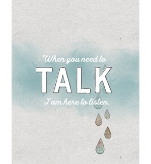 TH/When You Need to Talk