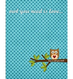 RO/Owl You Need Is Love