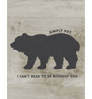 RO/Bear To Be Without You
