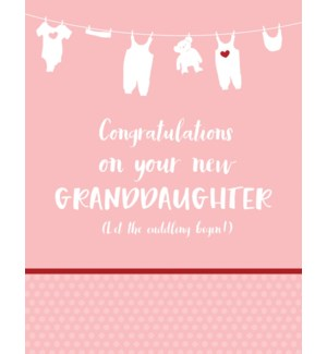 NBB/New Granddaughter