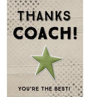 TY/Thanks Coach!