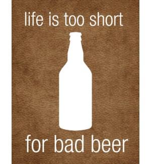 ED/Bad Beer
