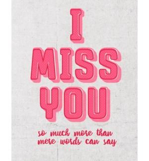 MIB/I Miss You