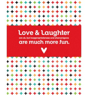 ED/Love & Laughter