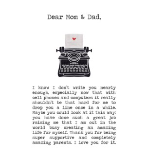 REDB/Dear Mom & Dad