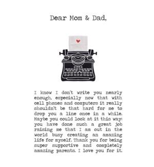 RED/Dear Mom & Dad