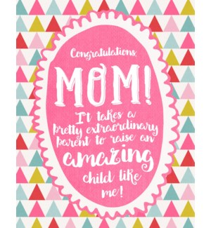 RED/Congratulations Mom