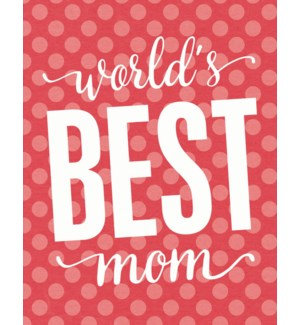 RED/World's Best Mom