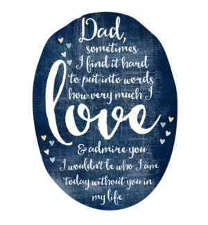 RED/Love & Admire Dad