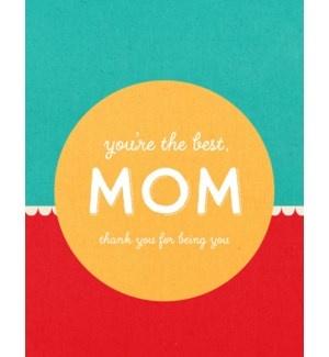 RED/You're The Best, Mom