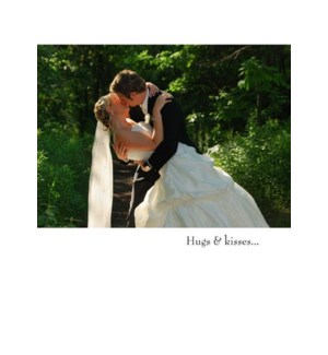 WD/Bride And Groom Kissing