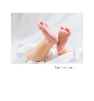 NB/Ten tiny toes…
