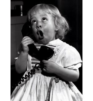 FR/Girl Talking On Phone