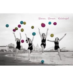 BD/Balloon Dancers On Beach