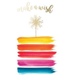 BD/Make A Wish Gold Foil