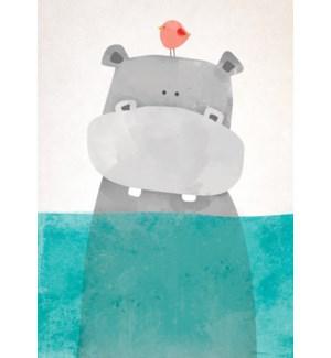 FR/Hippo Under Water