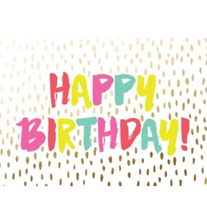 BD/Happy Birthday Neon