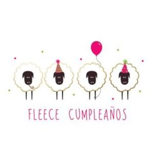 BD/Fleece Cumpleanos