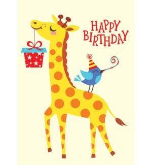 CBD/Giraffe & Bird
