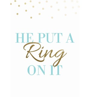 ENG/Put A Ring On It