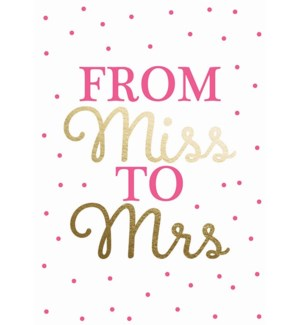 ENG/From Miss To Mrs
