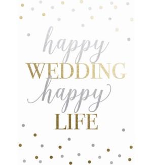 WD/Happy Wedding Happy Life