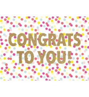 CO/Congrats To You!