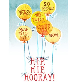 CO/Hip Hip Hooray Balloons!