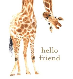 FR/Hello Friend Giraffe