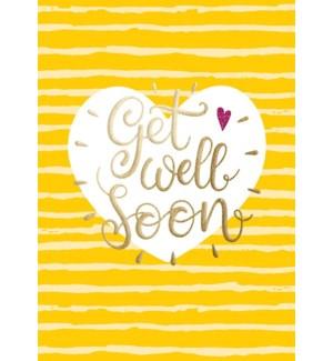 GW/Get Well Soon Heart