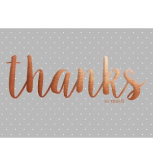 TYB/Copper Foil Thanks